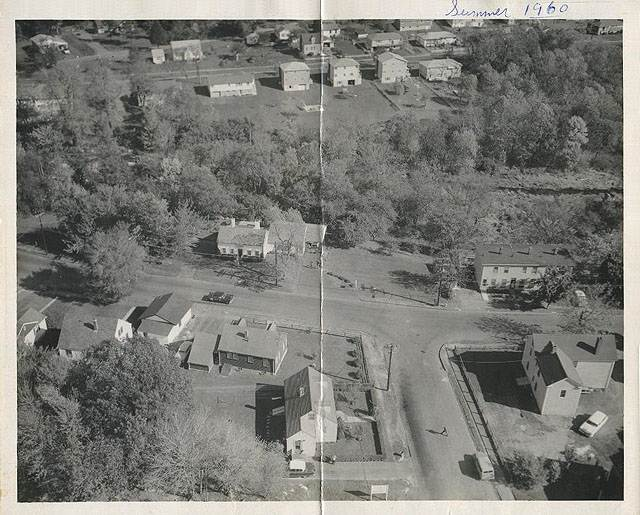 Aerial of Appleton and Central Streets.