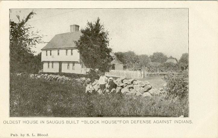 "The Boardman House billed as ""The Oldest House in Saugus"""