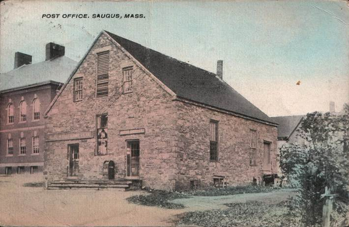 The old Saugus Post Office