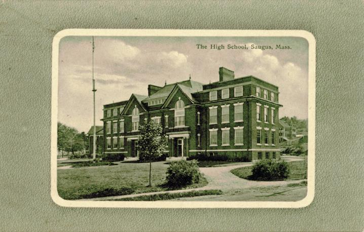 The old Saugus High School