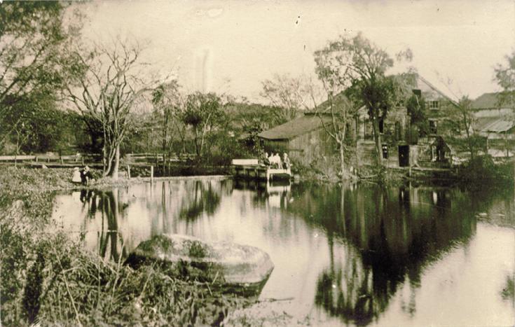 Ice House on Pranker's Pond