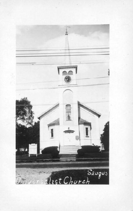 The First Parish Unitarian Universalist Church